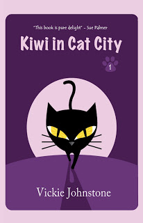 Kiwi in Cat City Cover