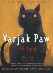 Varjak Paw Book Cover