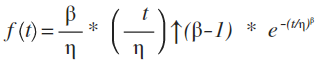 The Weibull distribution defining equation